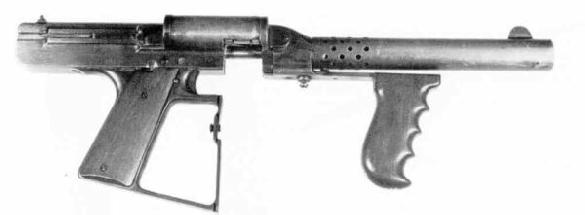 Thompson SMG prototype