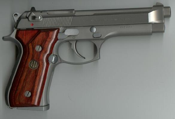 Beretta 98FS Inox cal. 9x21 mm Guance legno modello Beretta U.S.A.