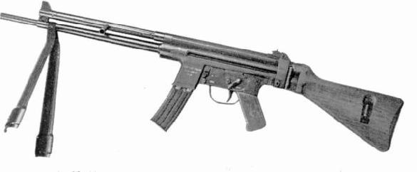 Carabine Mitrailleuse, calibre .30 M1