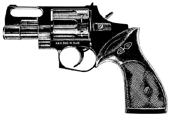 Nosorog AEK 906 revolver 9mm