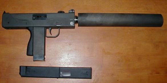Cobray Mac 11/9 w/barrel extention
