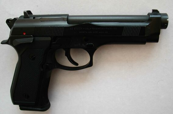 Beretta 92 stock 9mm