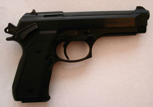 Beretta 92 stock with Ciener .22 conversion