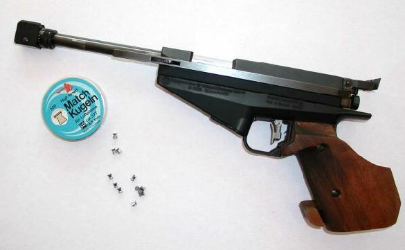 Feinwerkbau 90 electronic airgun, 4.5 mm