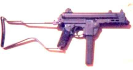Walther MPK folded stock
