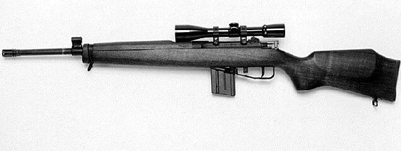 Milcam 5.56 mm rifle