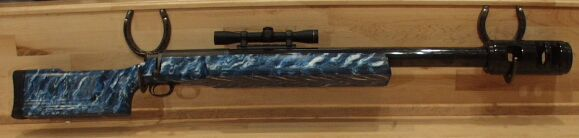 McBros 95 caliber rifle single shot bolt action rifle