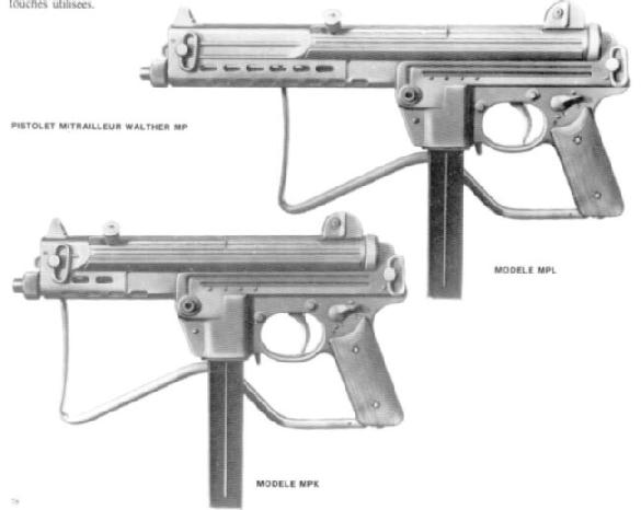 Walther MPL & MPK SMG