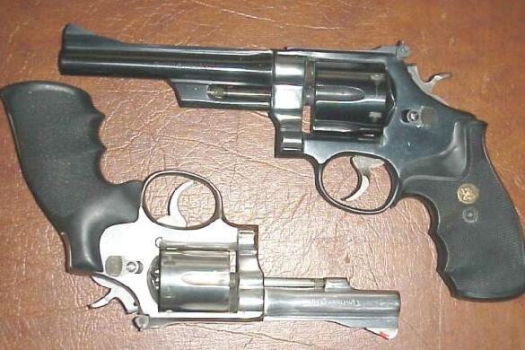 S&W models 28, .357 & model 67, .38spec.