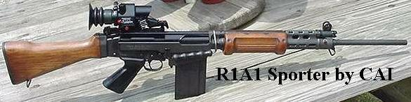 R1A1 FN-FAL with Izzy funiture & SUSAT scope (Century Arms)