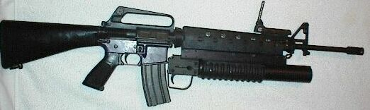 Sendra M15A1 with a 37mm Launcher
