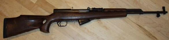 Norinco SKS with walnut hunting stock