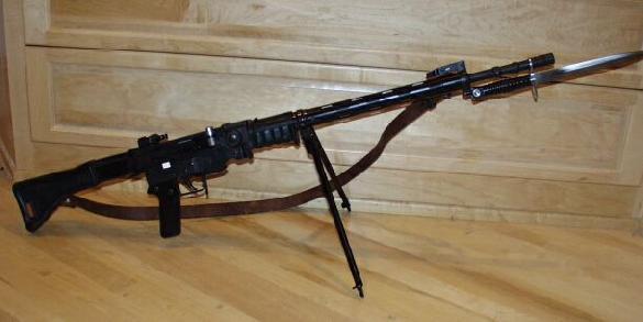 SIG PE57 with bayonet