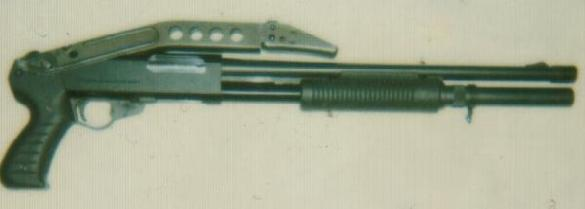 Franchi PA-8 with rare factory folding stock
