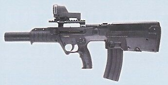 IMI Tavor-2 5.56mm Suppressed