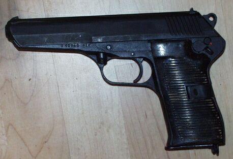Tokerov made in Czech. 7.62x25