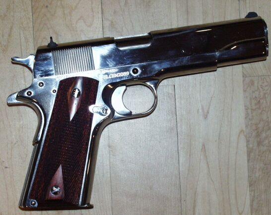 Colt Custom Super .38 Auto