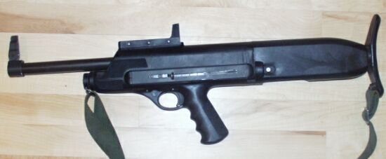 High Standard Model 10 series B Police Shotgun