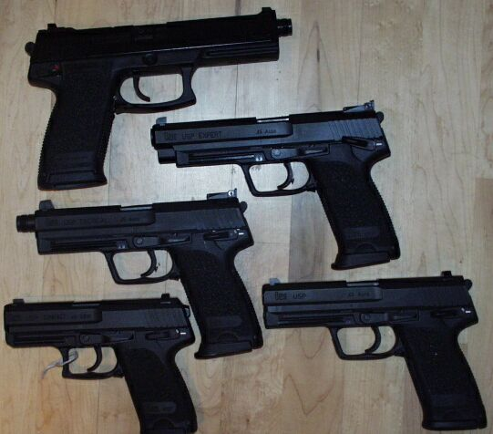 Part of my HK Family of pistols