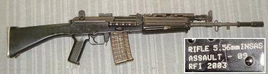 INSAS 1B1 Indian Service Rifle