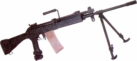 INSAS 1B2 Squad Automatic Weapon