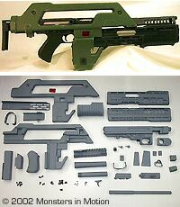 Pulse Rifle from the Alien movies.