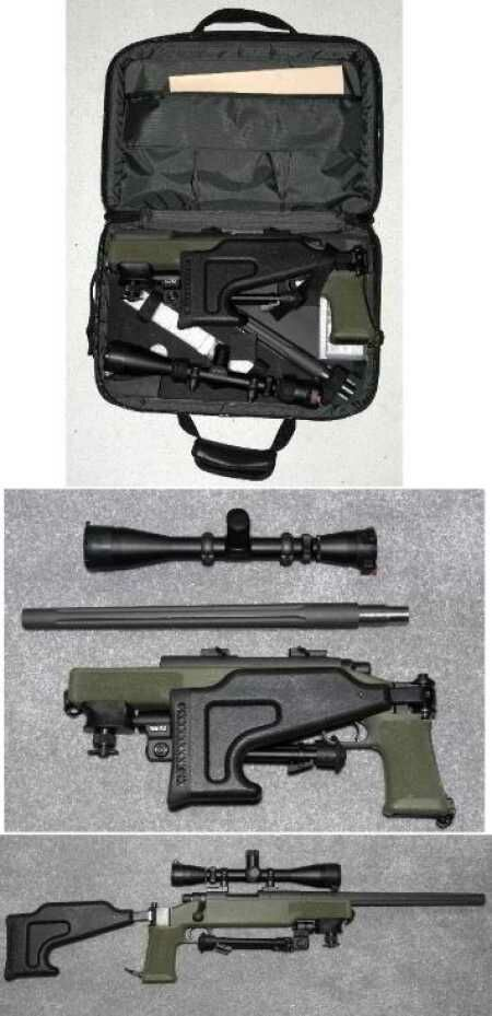 Armstec TTR-700 takedown rifle in .308