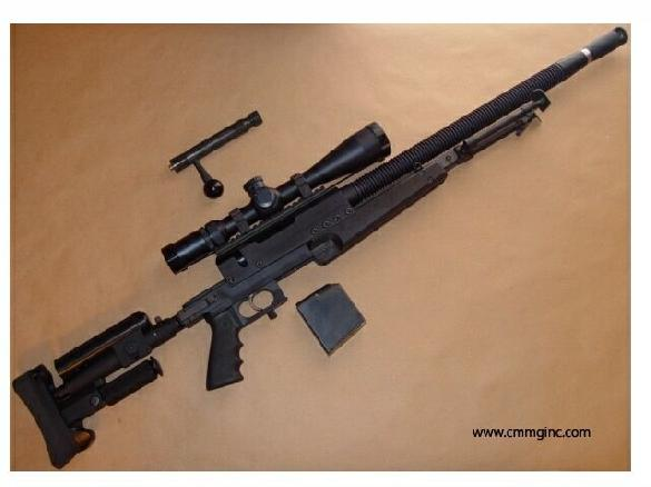 FN pmg .308 sniper rifle