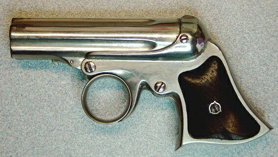 Remington Elliot Deringer 22RF. Made 1863-1870's