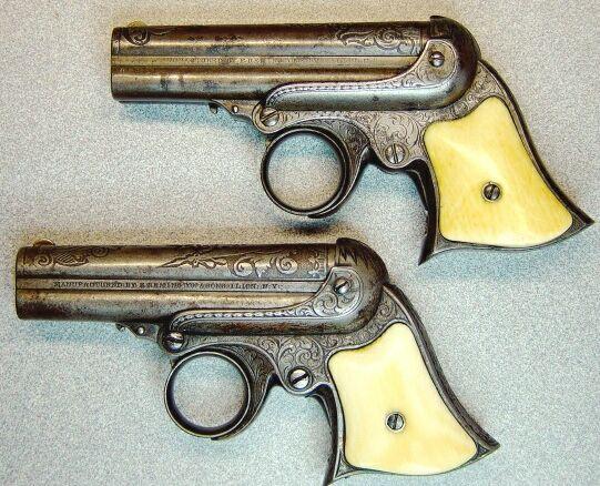 Remington Elliot Deringer 32RF. Made 1863-1888