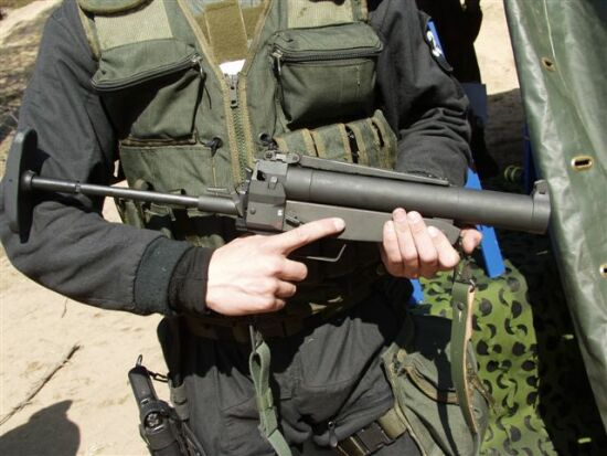HK 69A1 40mm grenade launcher
