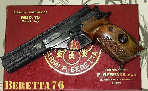 Beretta76 cal.22lr (target)