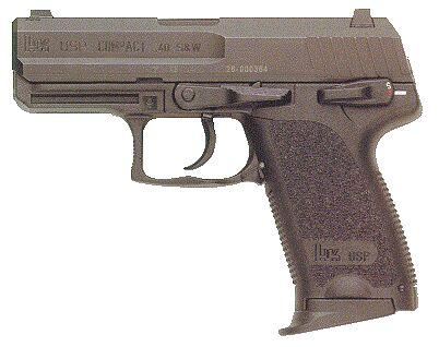 Hk USP Compact 2 Tone 40 S&W