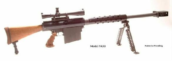 Cobb FA50 Fast-Action .50 caliber rifle