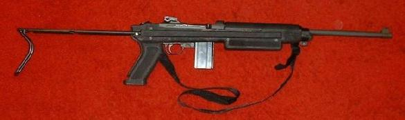 IMI M1 Model 888 .30 carbine_collapsible stock