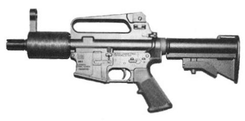 Military Manufacturing Corporation M16X With Suppressor