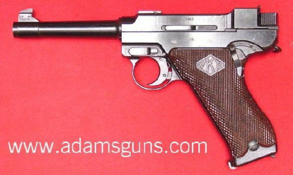 Lahti L-35 pistol is designed by Aimo Lahti.