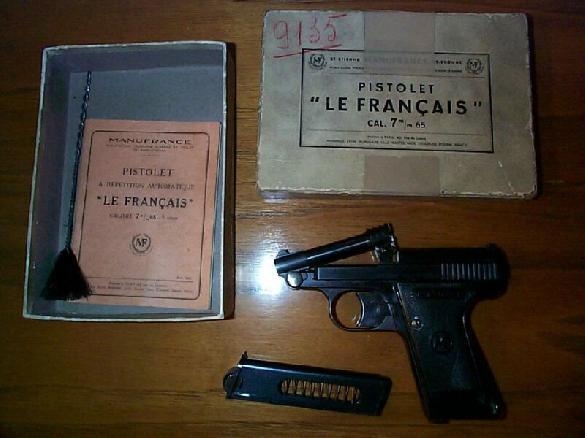 Le Francias .32 ACP
