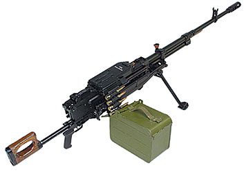 Russian Kord HMG in 12.7x108 mm