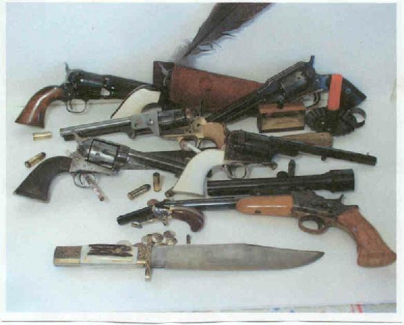 Old West Pistols