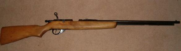 I wanted to send u a pic of my 22 rifle, my father got it in poland when he was in the army.