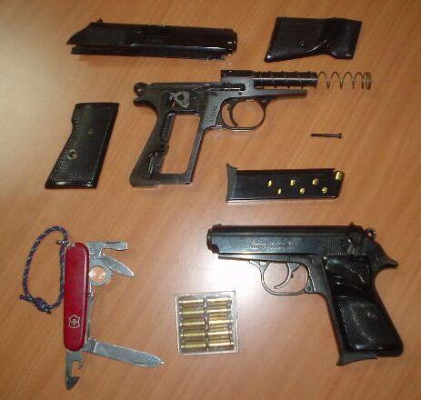 Falcon Rubber Bullet Pistol