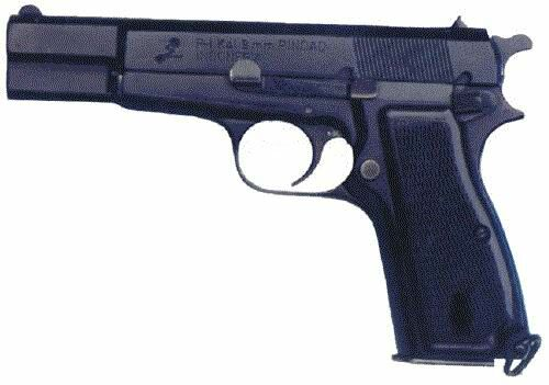 PINDAD P-2 PISTOL (DOUBLE ACTION)(India)
