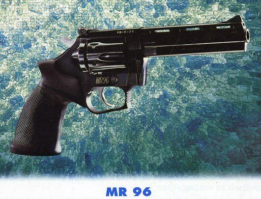 Manurhin MR-96 .38 & .357 cal