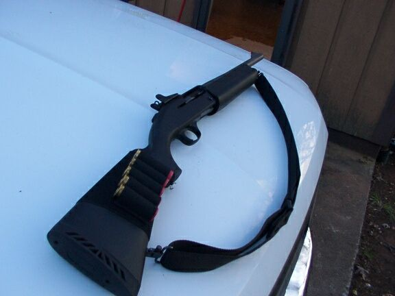 Mossberg 9200 Jungle Gun