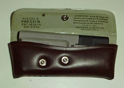 Pressin hand pistol, cal. 7.65-E, made in Spain