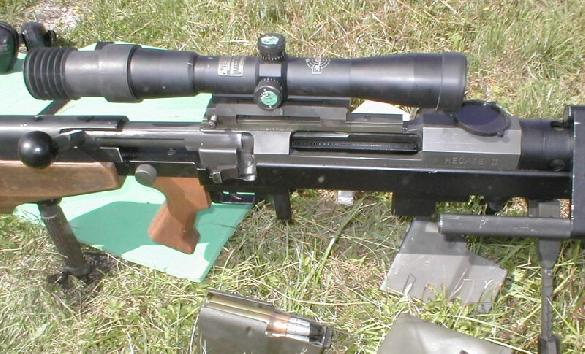 Hecate II, 50 BMG precision rifle, known in french forces as FR 12.7 F 1