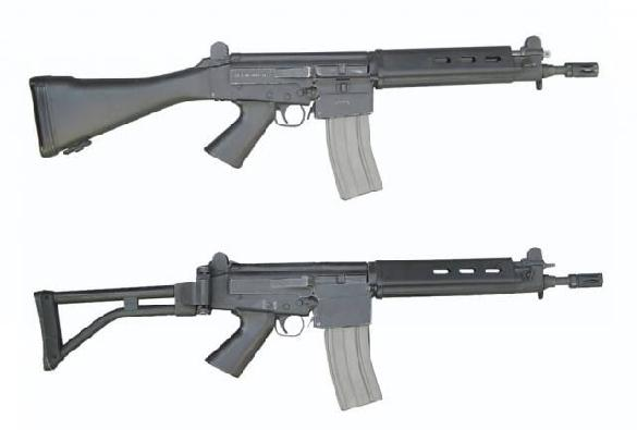 IMBEL MD2 and MD3 Assault Rifle (Carbine Version)