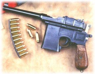 Mauser Broomhandle .45ACP