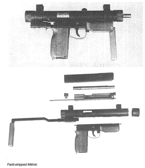 Métral Clandestine SubMachineGun 9x19mm